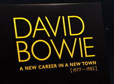 David Bowie, A New Career in a New Town, Unboxing